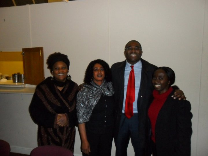 David Lammy MP visits Highway House